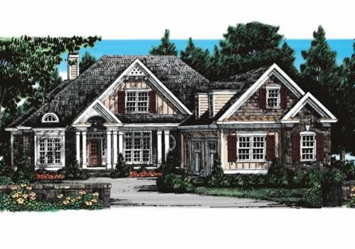 Stoney River House Floor Plan Frank Betz Associates