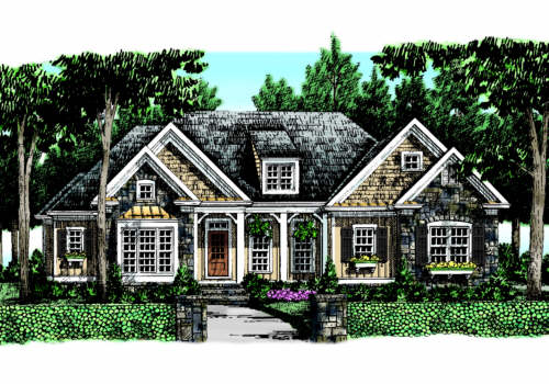 BLACKSTONE Southern Living House Plans