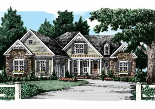 BERKELEY HEIGHTS Southern Living House Plans