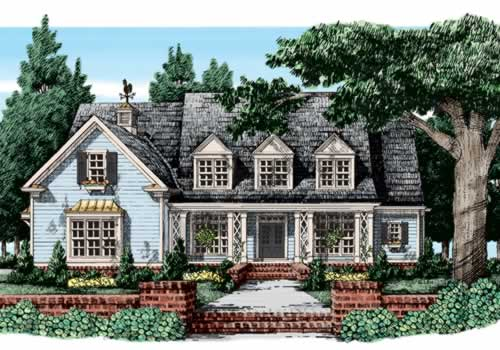 MCPHERSON PLACE Southern Living House Plans