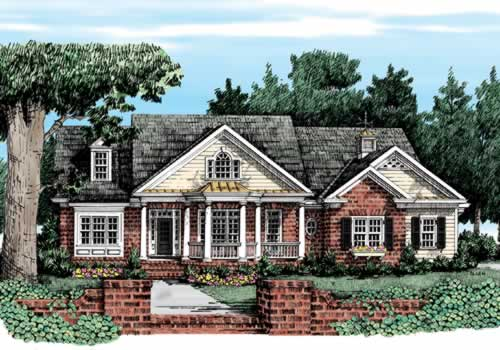 HUNTLEIGH Southern Living House Plans