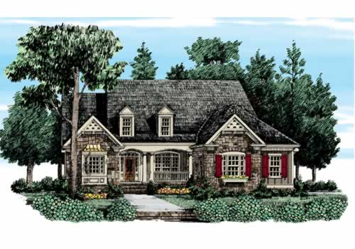 BARRINGTON HILLS Southern Living House Plans