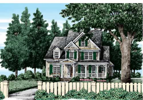 North Easton House Plan Elevation