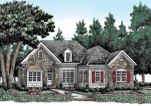 Woodbury Ridge Small House Plans