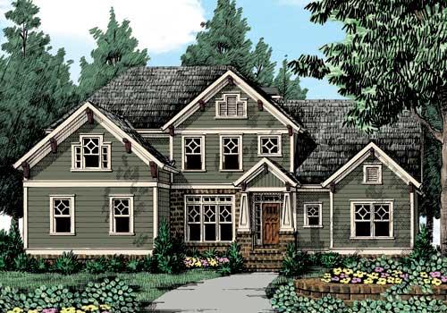 Frank Betz Floor Plans: Palisades House Floor Plan