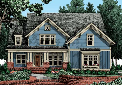 Carswell Home Plans And House Plans By Frank Betz Associates