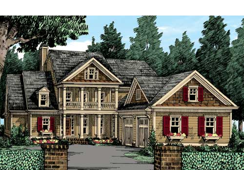 Crossville House Plan Elevation
