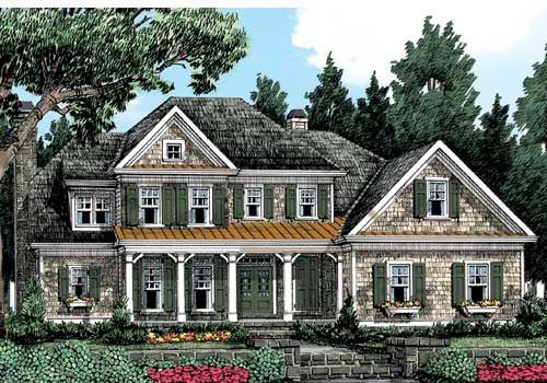 Waterstone Place House Plan Elevation