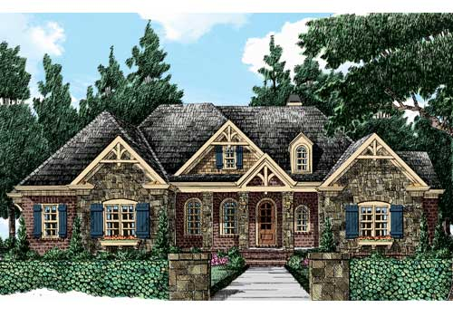 Magnolia Springs House Plan Elevation