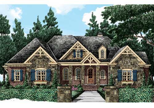 Magnolia Springs House Floor Plan Frank Betz Associates