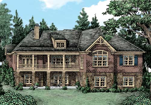 Magnolia Springs House Plan