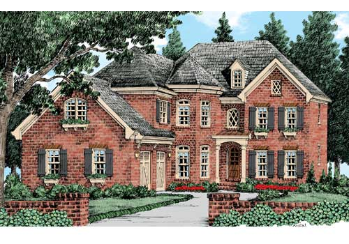 Cotswold House Plan Elevation
