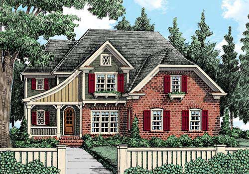 European House Plans | Frank Betz Associates