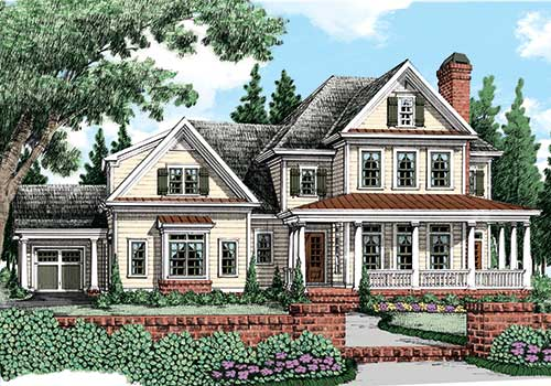 Summerlake House Plan Frank Betz