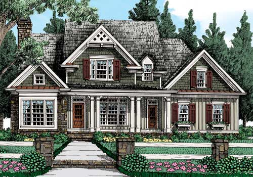 BUCKNELL PLACE Southern Living House Plans