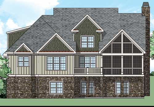 Bucknell Place House Plan