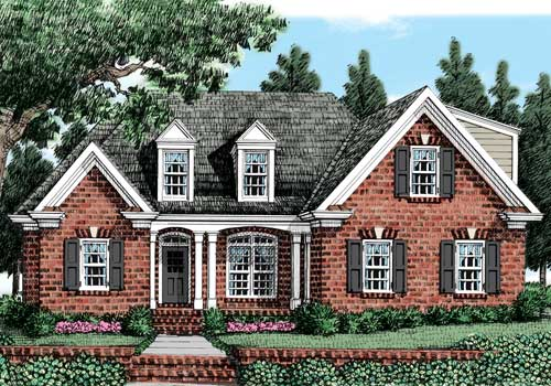 Huntington Ridge (a) House Plan