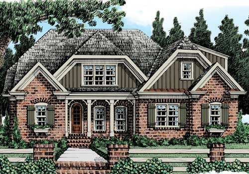 Huntington Ridge (b) House Plan