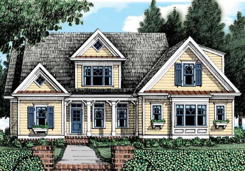 Huntington Ridge (c) House Plan