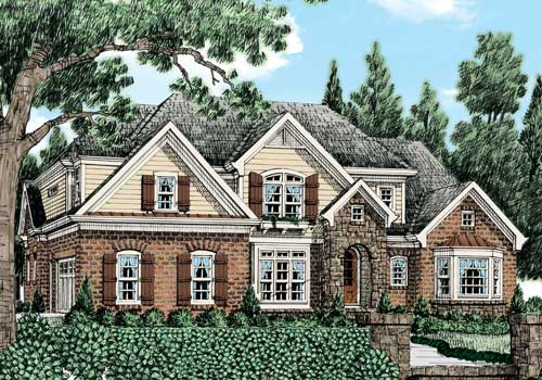 Appleton Chase (b) House Plan Elevation