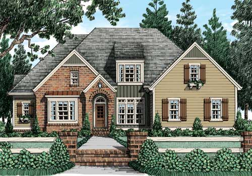 Avondale park c home plans and house plans by frank Avondale house plan