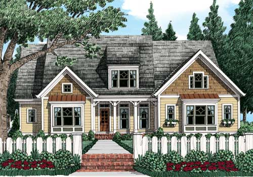 Avondale Park C House Floor Plan Frank Betz Associates