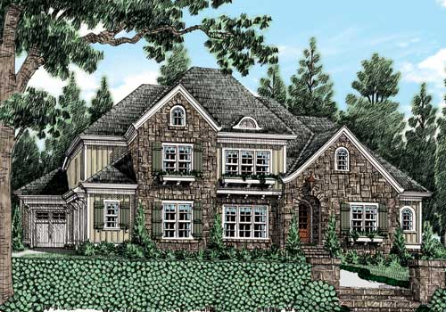 HAINES CROSSING (C) House Plans with 3D Walkthrough