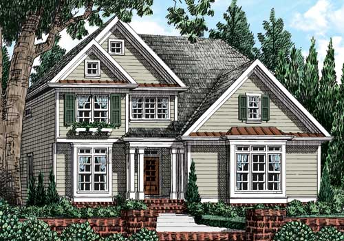 Harrison Mill (c) House Plan