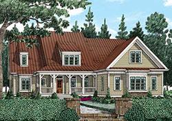 Ivy Jeane Cottage A House Floor Plan Frank Betz Associates