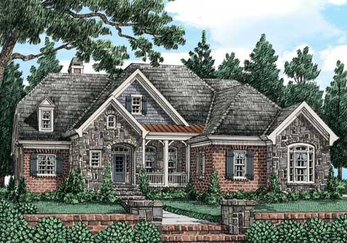 Ivy Jeane Cottage C House Floor Plan Frank Betz Associates