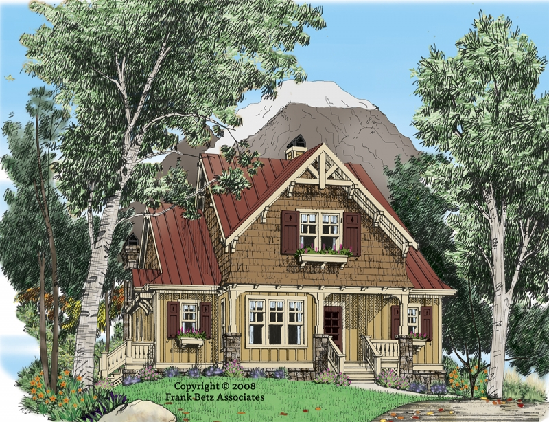 WIND RIVER Southern Living House Plans