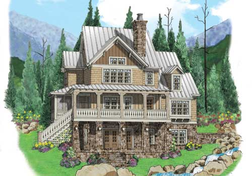 BLUE RIDGE Southern Living House Plans