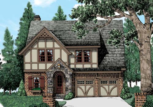 elevation - Country House Plans