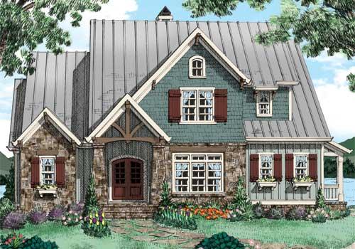 BITTEROOT Southern Living House Plans
