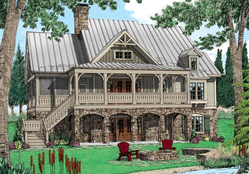 WOLF LAUREL Southern Living House Plans