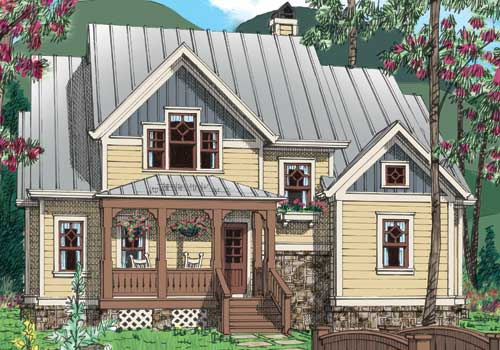 CATSKILL Southern Living House Plans
