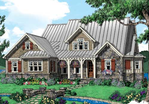 Appalachian Stream House Plan
