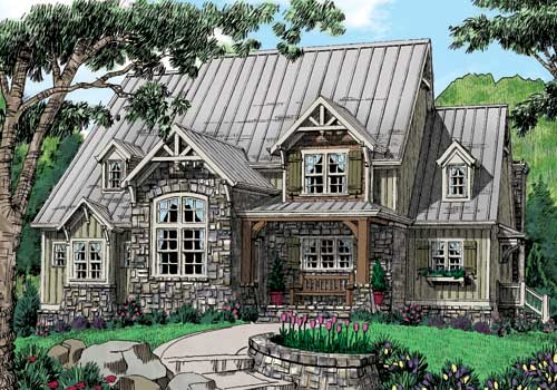 ELKHORN Mountain House Plans