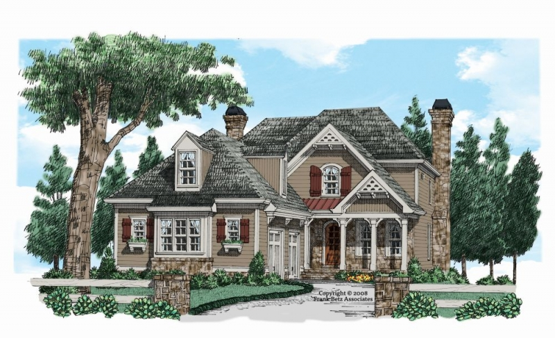 Cedarcrest House Plan
