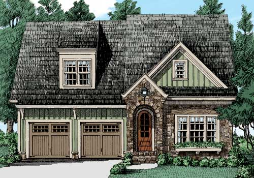 GARDENIA Narrow Home Plan Collection