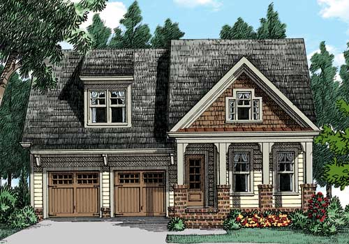 MIMOSA Craftsman Style House Plans