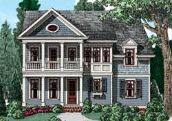 Colonial House Plans