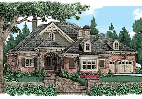 Falkirk Ridge House Plan