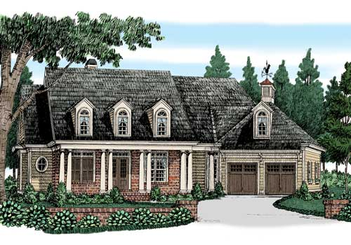 Blackburn Ridge House Plan Elevation