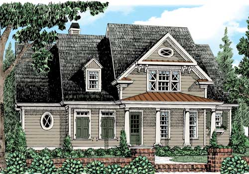 Danbury Park House Plan Elevation
