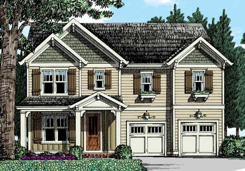 Riverbrooke House Plan