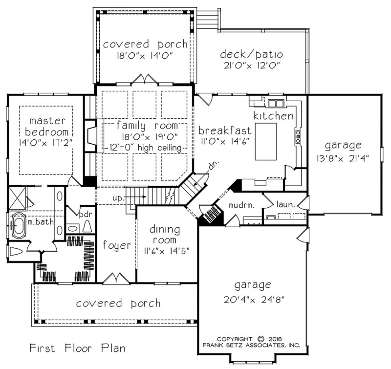 Ansonborough home plans and house plans by frank betz for Frank betz floor plans