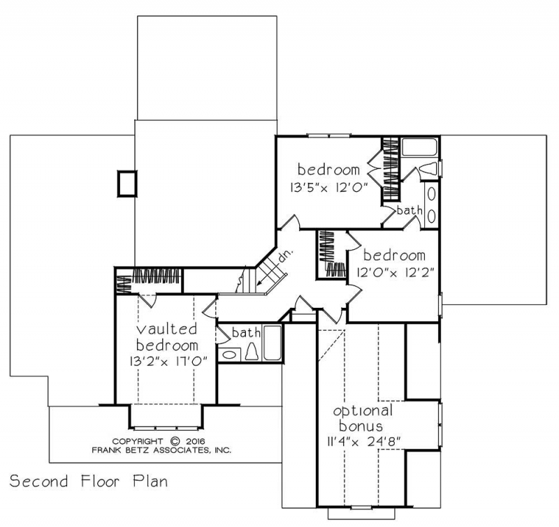 Ansonborough house floor plan frank betz associates for Frank betz floor plans