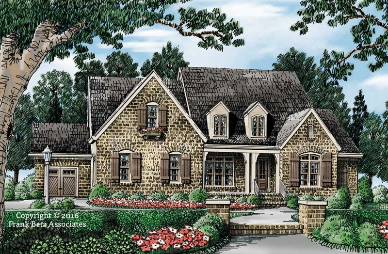 French Country House Plans Frank Betz Associates