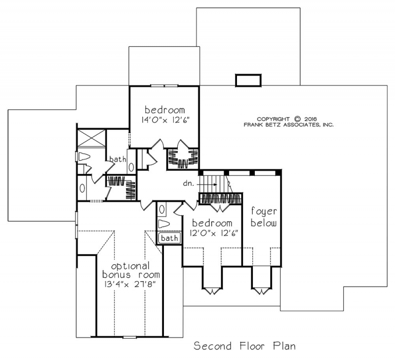 Filmore Park House Floor Plan Frank Betz Associates